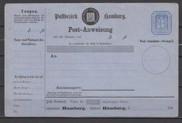 Hamburg Postanweisung A1a ** Ungebraucht  (80.-) - Hamburg