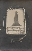 Echte Foto In Postkaart Formaat Van Den Ijzertoren - Diksmuide