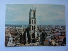 "Cartolina  Viaggiata ""GENT Eglise Saint Bavon"" 1967 - Gent"