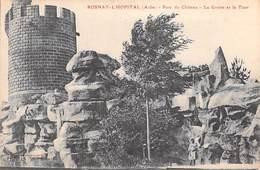 10  Aube -(canton Brienne Le Château) ROSNAY L'HÔPITAL Parc Du Château La Grotte Et La Tour *PRIX FIXE - Troyes