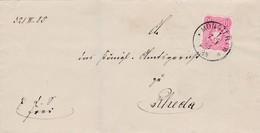 Brief Aus Münster 1886 - Allemagne