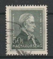 MiNr. 499  Ungarn 1932, 1. Juli. Freimarken: Persönlichkeiten. - Ungarn