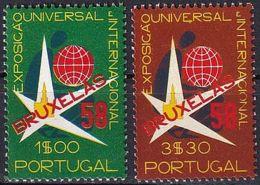 PORTUGAL 1958 Mi-Nr. 862/63 ** MNH - 1910-... Republik