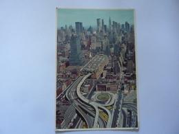"Cartolina  Viaggiata ""THE PORT AUTHORITY BUS TERMINAL New York City"" 1984 - Trasporti"