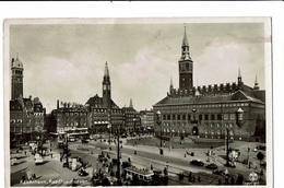 CPA - Carte Postale-Danemark- Kobenhavn - Raadhuspladsen -1936- VM799 - Dänemark