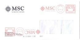 MSC CROCIERE - Marcophilie - EMA (Empreintes Machines)