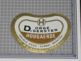 Oud Bier Etiket ORGE GERSTEN Brouwerij Brasserie HOUGAERDE Hoegaarden - Beer