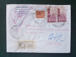 (18575) STORIA POSTALE ITALIA 1958 - 1946-60: Storia Postale