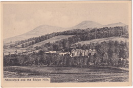 Abbotsford And The Eildon Hills - (Scotland) - Roxburghshire