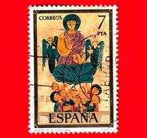SPAGNA - Usato - 1975 - Cattedrale Di Gerona - 'Benedizione Della Moltitudine' - Codici - R.A. Historia - 7 - 1931-Aujourd'hui: II. République - ....Juan Carlos I