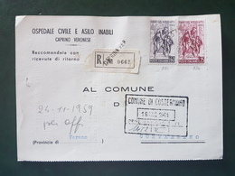 (18576) STORIA POSTALE ITALIA 1961 - 1946-.. République