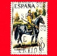 SPAGNA - Usato - 1975 - Uniformi Militari - Dragon Regiment Of Sagunto, 1775 - 10 - 1931-Aujourd'hui: II. République - ....Juan Carlos I