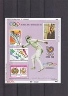 Olympische Spelen  1988 , Bolivie - Blok Postfris - Ete 1988: Séoul