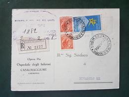 (18577) STORIA POSTALE ITALIA 1958 - 1946-60: Storia Postale