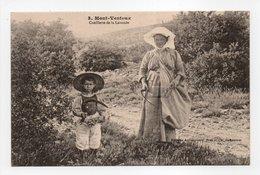 - CPA MONT VENTOUX (84) - Cueillette De La Lavande (superbe Gros Plan) - Editions Brun N° 3 - - France