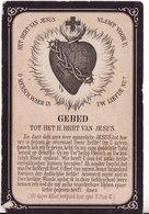 GEBOREN TE ELVERSELE 1813+1873 JOANNA-FRANCISCA DE WITTE - Religion &  Esoterik