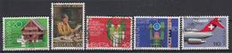ZWITSERLAND - Michel - 1981 - Nr 1191/95 - Gest/Obl/Us - Suisse