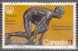 CANADA   SCOTT NO 656    USED     YEAR  1975 - 1952-.... Règne D'Elizabeth II