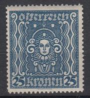 OOSTENRIJK - Michel - 1922 - Nr 399A - MH* - 1918-1945 1ère République