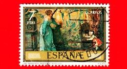 SPAGNA - Usato - 1974 - Pittori - Eduardo Rosales - I Primi Passi - 7 - 1931-Oggi: 2. Rep. - ... Juan Carlos I