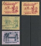 MiNr. 2127, 2129, 2131 Ungarn 1965, 15. Juni. Ausstellung Zur Geschichte Des Tennisspiels (II). - Ungarn