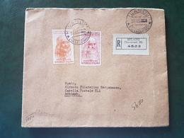 (18583) STORIA POSTALE ITALIA 1953 - 1946-60: Storia Postale