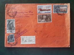 (18584) STORIA POSTALE ITALIA 1956 - 1946-60: Storia Postale