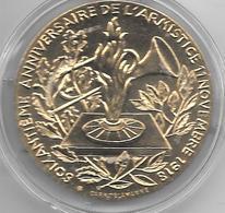 *medaille Soixantieme Anniversaire De L'armistice 11 Novembre 1918/aus Combattants De Toutes Les Geurres.... - France