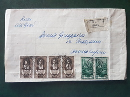 (18585) STORIA POSTALE ITALIA 1953 - 1946-60: Storia Postale