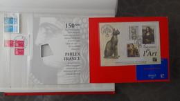 Collection De Timbres, Carnets, Blocs De France Avec Oblitérations Soignées (2 Feuilles Concorde Avec 1 Pli) - Timbres