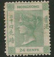 CHINE - HONG-KONG - N° 5 * - Gomme D'origine (O.G. ) Rousseurs - Grosse Cote - Petit Prix De Départ - Neufs