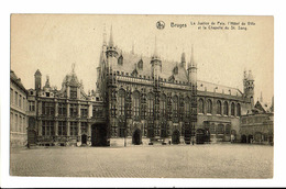 CPA - Carte Postale - Belgique - Brugge - Justice De Paix -Hôtel De Ville VM802 - Brugge