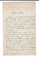 GUERRE DE 1870 Lettre 4 .10.1871 Monument Général Polonais Bossak - Ouvrages Bordone - Dijon Garibaldi - Autographes