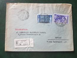 (18591) STORIA POSTALE ITALIA 1952 - 1946-.. République