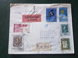 (18592) STORIA POSTALE ITALIA 1959 - 1946-.. République