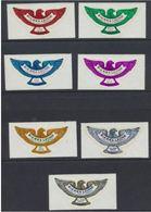 Sierra Leone 1970 Eagle Set - Bird - Gold Gilt Foil - Unusual - Adler & Greifvögel