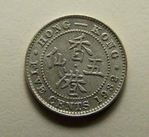Hong Kong 5 Cents 1932 Silver - Hong Kong