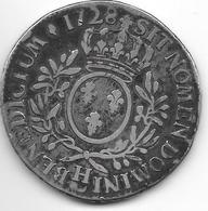 *louis XV Ecu 1728 H  Km 486.9 F+ - 987-1789 Monnaies Royales