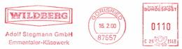 Freistempel Abschnitt 0002 Emmentaler Käse - Poststempel - Freistempel