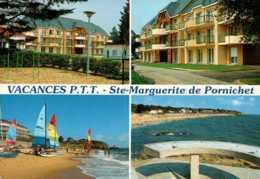 Dep 44 , Cpm  STE MARGUERITE DE PORNICHET , Vacances P.T.T. , Multivues - Pornichet