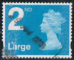 GB 2009 Yv. N°3104 - 2nd Large Bleu - Autoadhésif  - Oblitéré - 1952-.... (Elizabeth II)