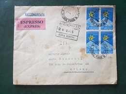 (18595) STORIA POSTALE ITALIA 1959 - 1946-.. République