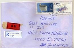 Bosnia And Herzegovina - 1998 AR - R - Letter Vrnograc - Bosnie-Herzegovine