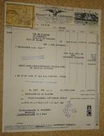 """Facture Ancienne Mandat - éts A Crespel """"le Fil Français De Qualité"""" - Lille - 1944 - France"""