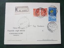 (18596) STORIA POSTALE ITALIA 1958 - 1946-.. République