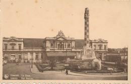CPA - Belgique - Leuven - Louvain - La Gare - Leuven