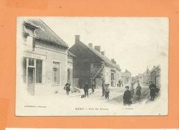CPA - Remy  - Rue De Noyon  -  (Boucherie , Boulanger  ) - France