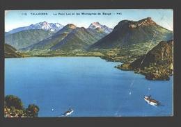 Talloires - Le Petit Lac Et Les Montagnes De Bauge - 1949 - Talloires