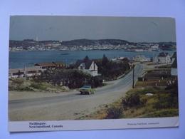 "Cartolina ""TWILLIGATE Newfouland, Canada"" 1985 - Altri"
