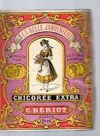 """Lille (59 Nord) étiquette CHICOREE BERIOT """"à La Belle Jardinière""""  (PPP17447) - Advertising"""